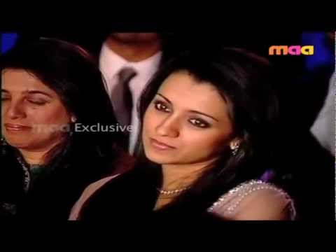 Trisha At Ramcharantej's Engagement video