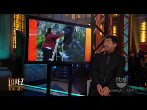 Lopez Tonight - Avatar Makeover - Danny Trejo - Chola Girl