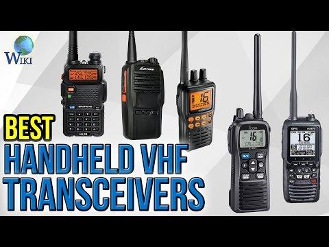 7 Best Handheld VHF Transceivers 2017