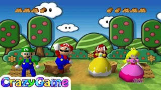 Mario Party 3 - All Funny Minigames Gameplay