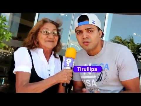 Tirullipa é entrevistado por Dona Irene