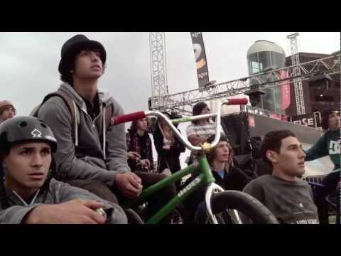 THIS IS FISE with Dustin Grice & AJ Anaya Montpellier France 2012 BMX Contest