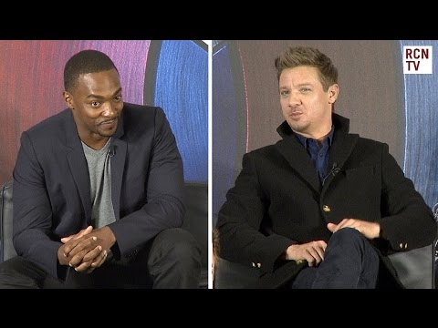 Anthony Mackie & Jeremy Renner Interview - Captain America Civil War Premiere