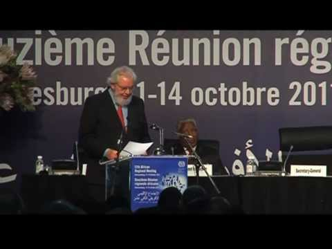 12th African Regional Meeting: Video Highlights of the Opening Ceremony- 11 October 2011 (Day 1)