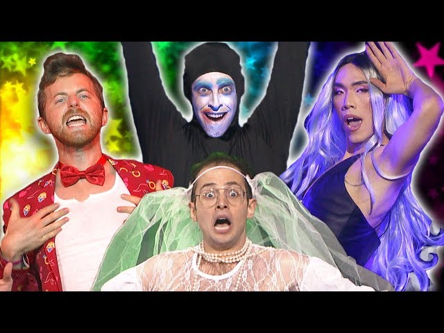 The Try Guys Lip Sync Battle Drag Queens thumbnail