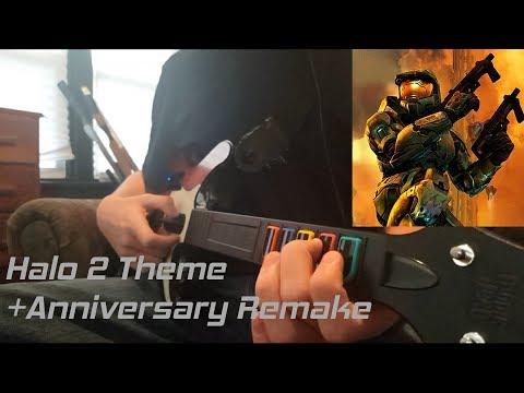 Halo 2 Theme + Anniversary Edition Clone Hero Chart  me