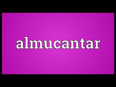Header of almucantar