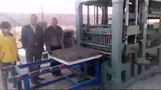 automatic cement brick making machine   brick machine from China