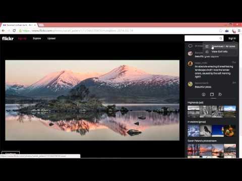 Как скачать фото с Flickr и других сайтов