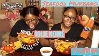 THE JUICY CRAB SING EVERYTHING CHALLENGE (BLOVE INSPIRED) | GIRL TALK- Jolie Noire