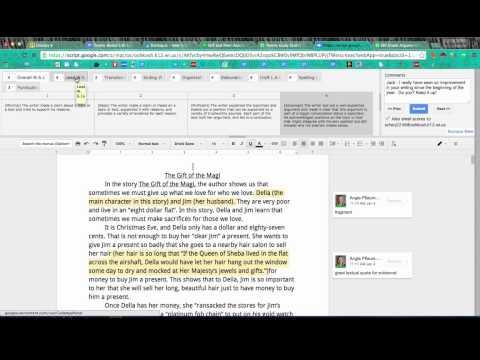 Google Classroom, Doctopus, Goobric, and Docappender for Self, Peer, and Teacher Assessment