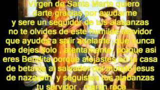 Rituales Gratis con Carmen.: Ritual a Santa Marta