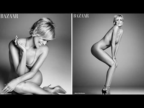 Sharon Stone Looks Stunning Posing Nude at 57