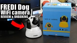 FREDI Dog WiFi Camera REVIEW: The Cutest Baby Monitor 2018!