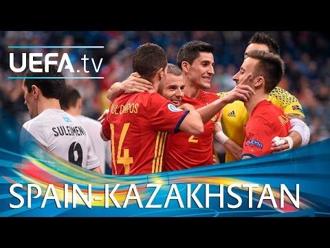 Futsal EURO Highlights: Watch Spain survive Kazakhstan fightback