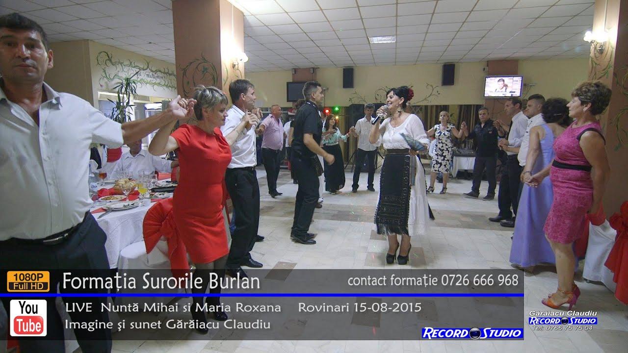 ♫ Surorile Burlan Colaj HORA part.1 LIVE Nunta Mihai si Maria Roxana 15-08-2015