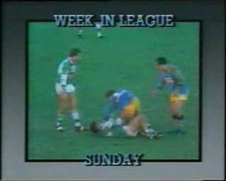 Norths devils v Ipswich Jets highlights from 1986 Lang Park.