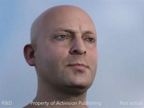 Activision Character Tech Demo in Real Time