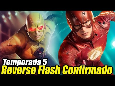 ¡REVERSE FLASH REGRESA En The Flash Temporada 5! - ¿Origen de Reverse Flash? thumbnail