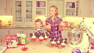 #ad | SUNDAY BAKING SERIES: Mickey Mouse Inspired Cupcakes with the SACCONEJOLYs
