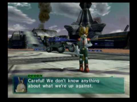 Star Fox Assault Gameplay