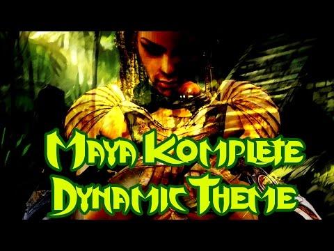 Maya Komplete Dynamic Theme - Killer Instinct Soundtrack