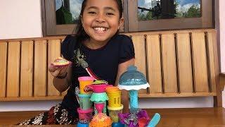 Unboxing Mainan Anak Playdoh Kitchen Creation - Membuat Kue Mainan