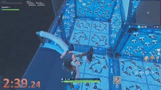 3:23 PERFECT RUN | Cizzorz deathrun course | Fortnite