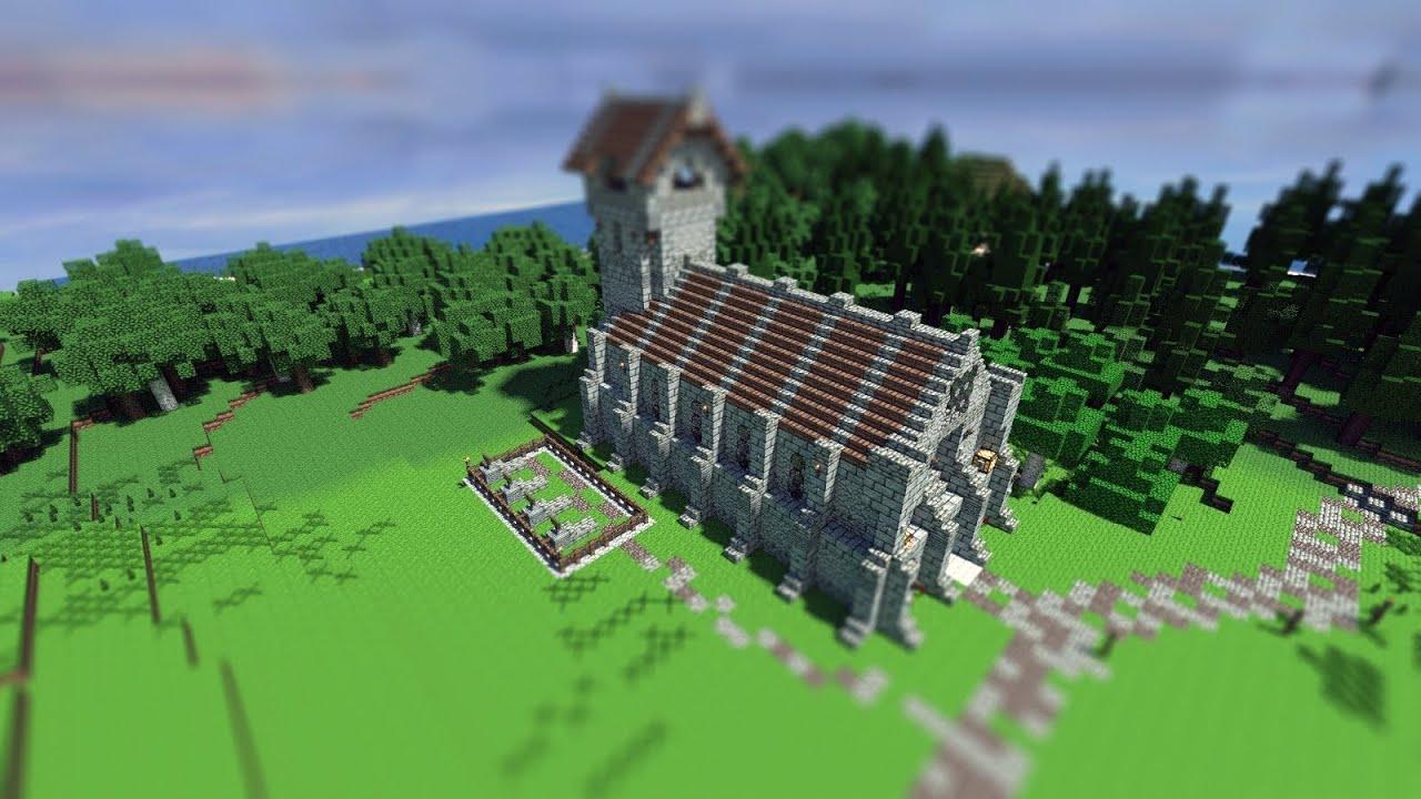 Minecraft Church Blueprints