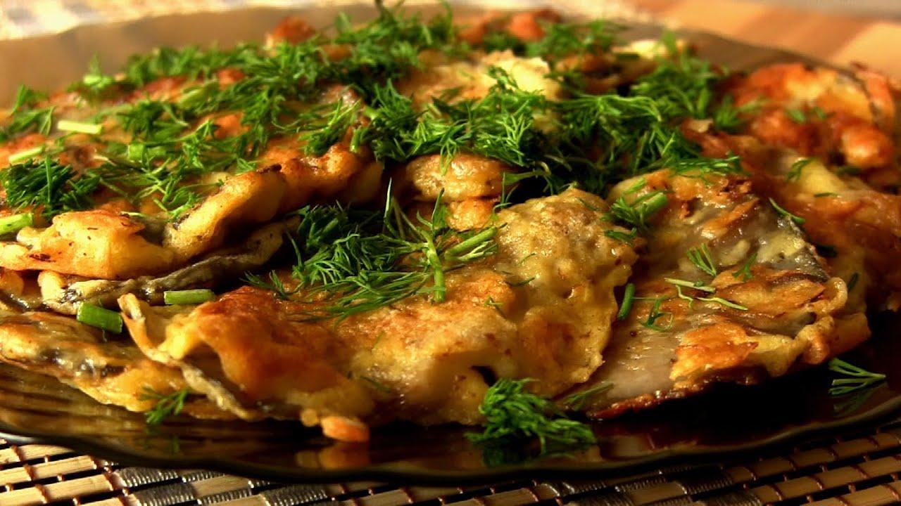 Рецепты с вешенками грибы