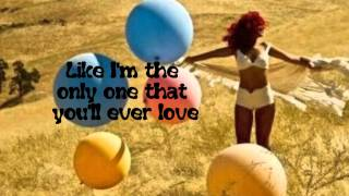 Rihanna-Only girl (In the world)(With Lyrics) in HD