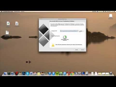 mac installare windows 7 su imac via usb con boot c