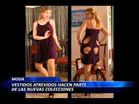 Vestidos atrevidos hacen parte de las nuevas colecciones