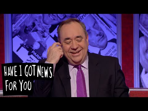 Alex Salmond's Sex Knowledge - Have I Got News For You