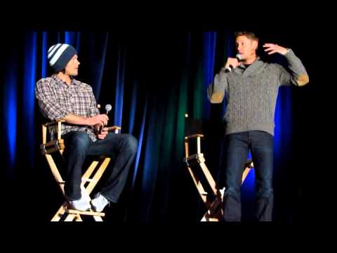 Jensen Ackles and Jared Padalecki at NashCon 2012 J2 Full length