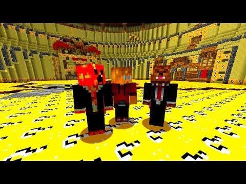 Minecraft LUCKY BLOCK SPLEEF #1 with Vikkstar, JeromeASF, Prest