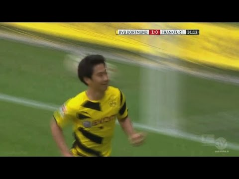 Shinji Kagawa vs. Eintracht Frankfurt 2014/15 (Home) 25|04|2015