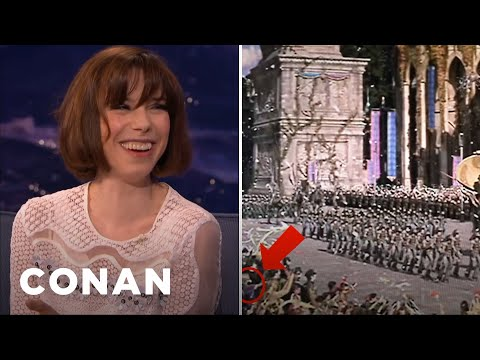 "Sally Hawkins Never Watched Her ""Star Wars"" Performance  - CONAN on TBS"