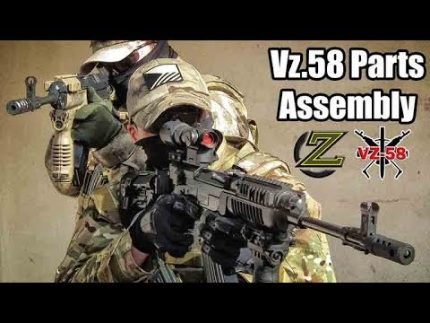 ZAHAL - FAB Defense - VZ-58 parts and accessories Installation