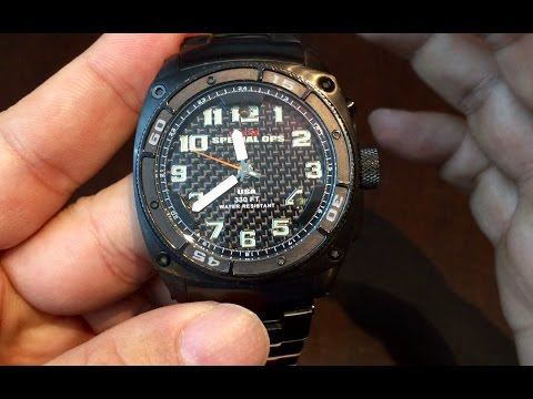 MTM Special Ops Blackhawk watch review