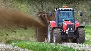 Muck Spreading - from Out and About on the Farm - Mighty Machines!