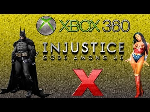 Injustice Gods Among Us - Dublado - Batman vs Mulher Maravilha - Gameplay - Xbox 360