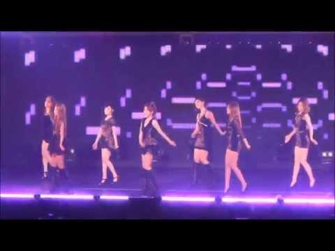 130713 Fancam Sexy Love (Japan ver) - T-ara in Budokan Concert
