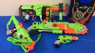 Box of Toys NERF Guns Toy Guns Zombie Strike Toys for Kids