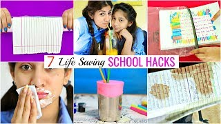 7 LIFE Saving SCHOOL Hacks for Students/Teenagers | #Budgets #Roleplay #Sketch #MyMissAnand #Anaysa