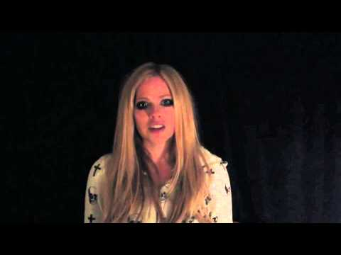 Avril Lavigne Asks You to Take the R-word Pledge