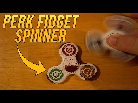 Real Life Perk-a-Cola Fidget Spinners   Custom Call of Duty Zombies Fidget Spinners