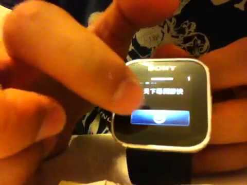 Sony smartwatch MN2 智能手錶