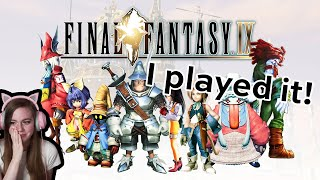 I played Final Fantasy IX for the first time! [ending reaction]