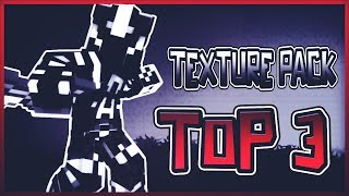 ❤️TPF #9 TOP 3 MINECRAFT PVP TEXTURE PACKS - DEFAULT EDITS UHC/KOHI FPS+++❤️